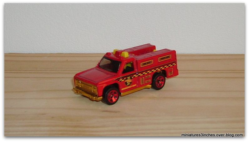 Rescue Ranger by Hot Wheels.