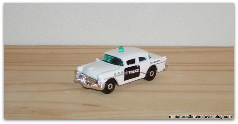 '56 Buick Century &quot&#x3B;Police&quot&#x3B; by Matchbox.