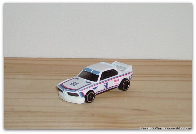 BMW 3.0 CSL Race Car 1973  by Hot Wheels.
