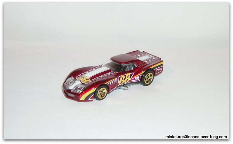 '76 Greenwood Corvette by Hot Wheels.