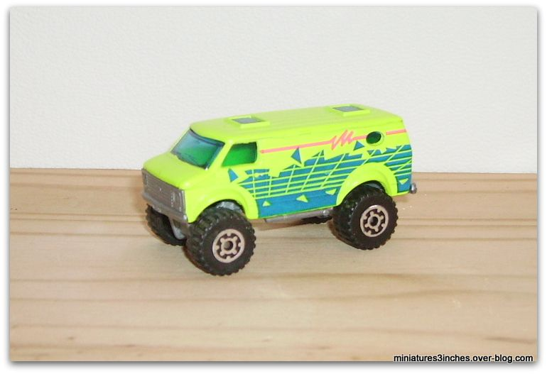 Chevy Van 4x4   by  Matchbox.
