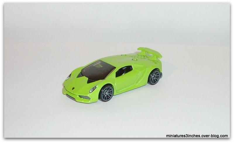 Lamborghini Sesto Elemento by Hot Wheels.