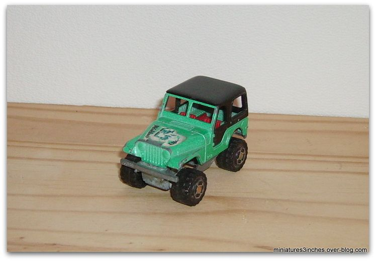 Jeep CJ ref 244  by  Majorette.
