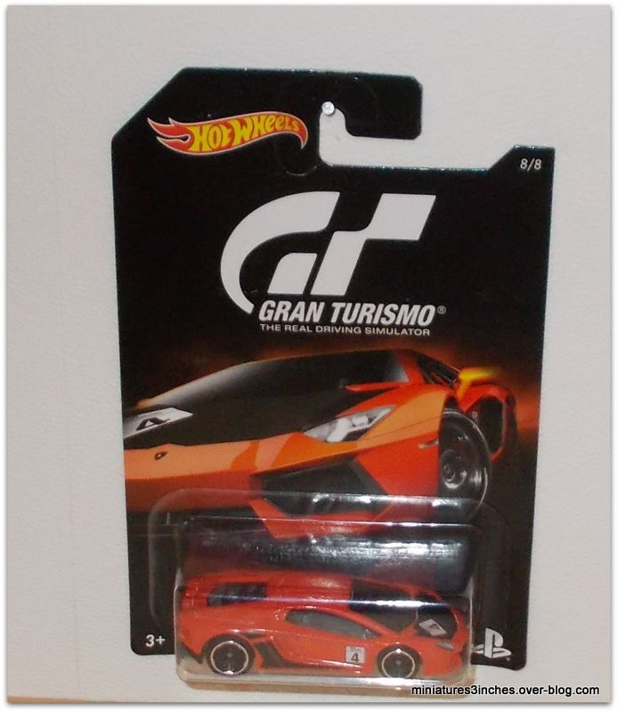 Collector 2016  &quot&#x3B;Série Gran Turismo&quot&#x3B;   by Hot Wheels.