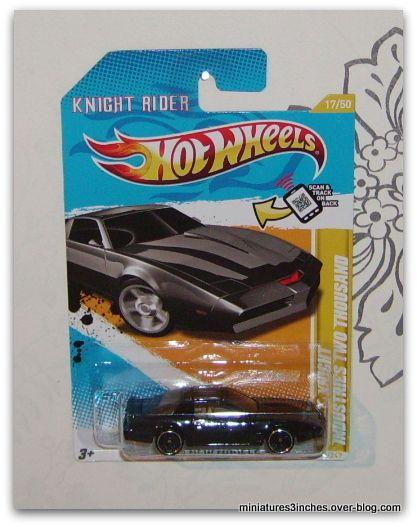 Knight Rider  &quot&#x3B;K-2000&quot&#x3B;  by  Hot Wheels.