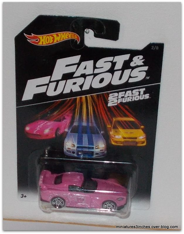 Collector 2016  Série &quot&#x3B;Fast and Furious&quot&#x3B;  by  Hot Wheels.