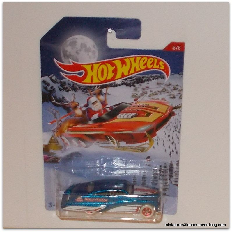 Collector 2016 &quot&#x3B;Série Holiday Hot Rods&quot&#x3B;   by  Hot Wheels.