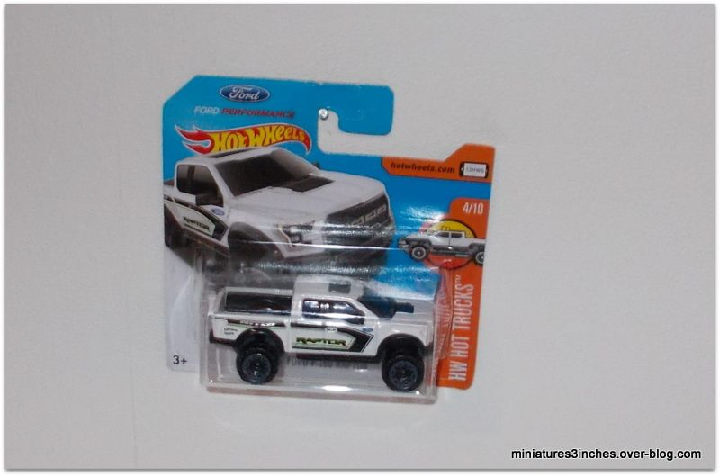 Ford F-150 Raptor  by Hot Wheels.