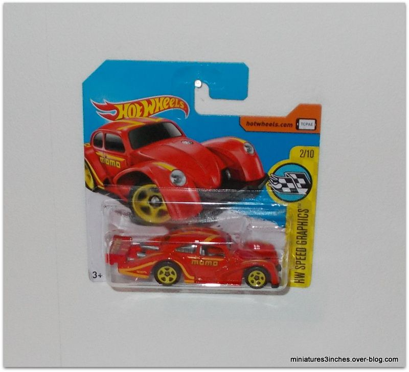Volkswagen Käfer Racer  by  Hot Wheels.