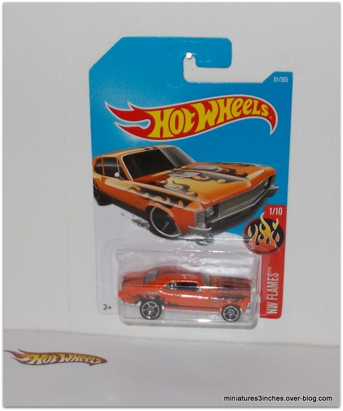 Chevy Nova 1968 by Hot Wheels.
