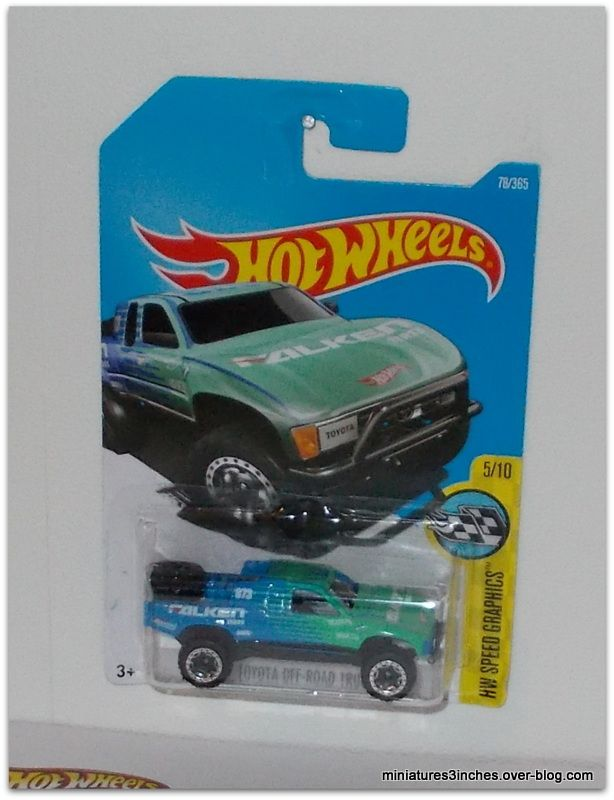 Toyota Off-road truck  by Hot Wheels.