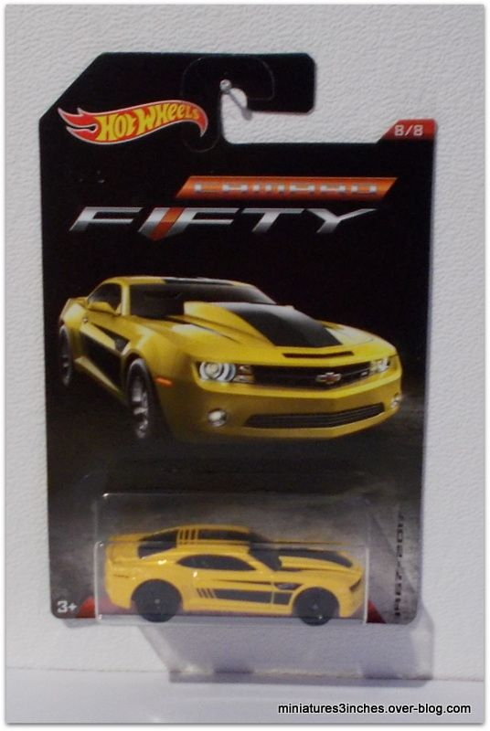 Collector 2017  &quot&#x3B;série Camaro Fifty&quot&#x3B;  by Hot Wheels.