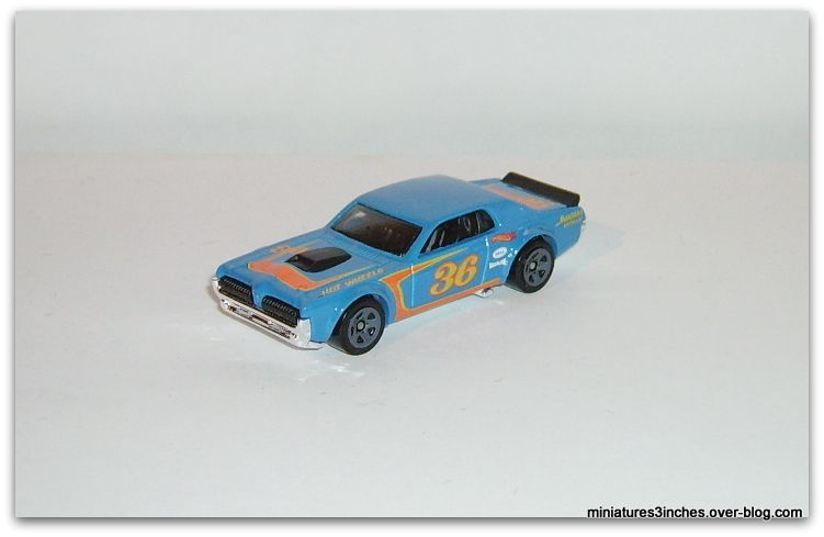 '68 Mercury Cougar by Hot Wheels.