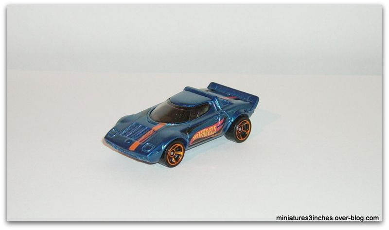 Lancia Stratos by Hot Wheels.