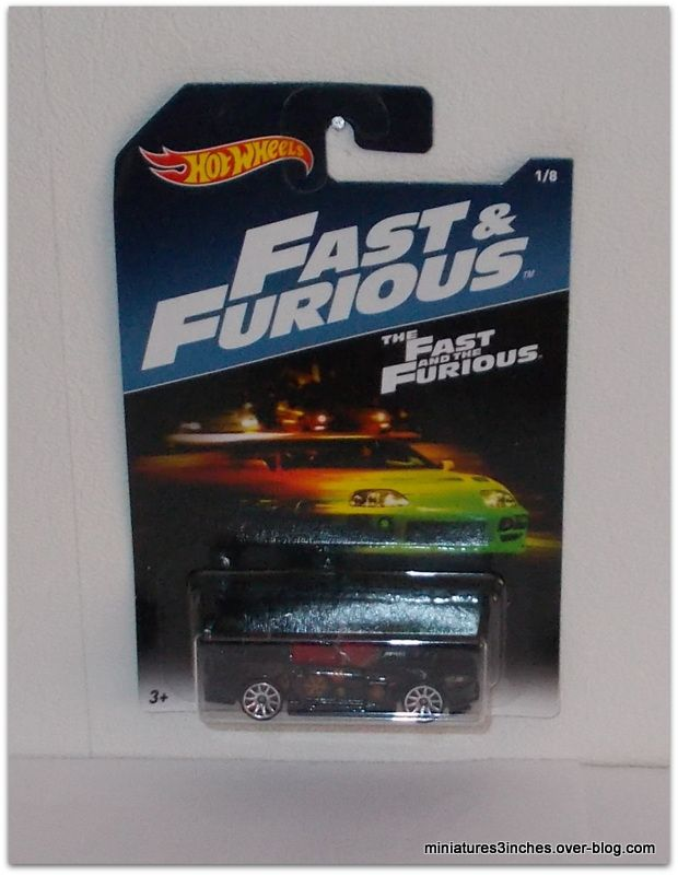 Collector 2017  série &quot&#x3B;Fast and Furious&quot&#x3B;  by  Hot Wheels.