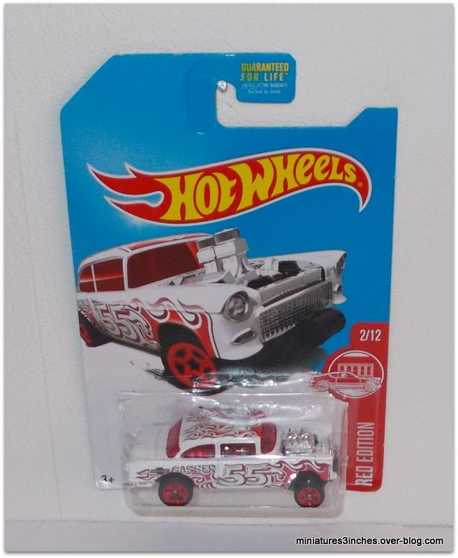 '55 Chevy Bel Air &quot&#x3B;Gasser&quot&#x3B; by Hot Wheels.