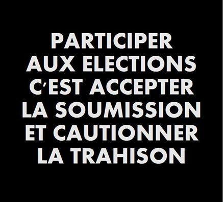 L'élection pour les nuls…