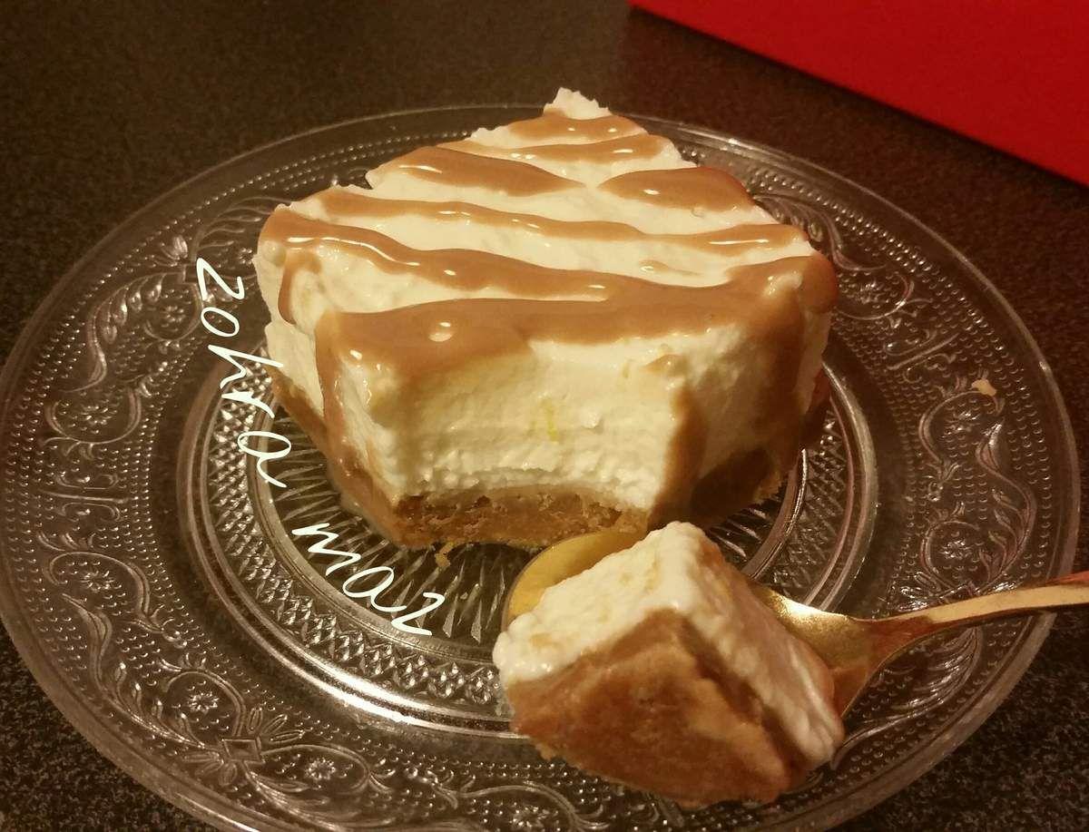 Cheese cake sans cuisson et sans gélatine