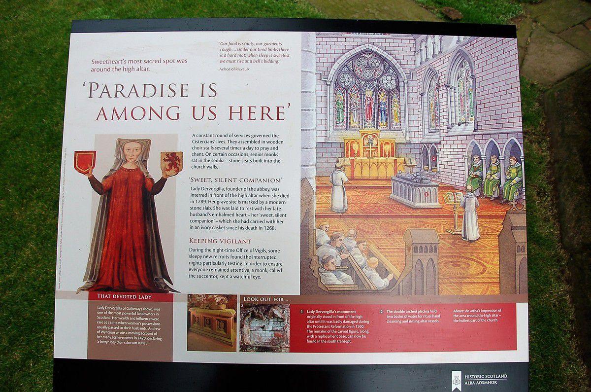 Abbaye cistercienne de Sweetheart.