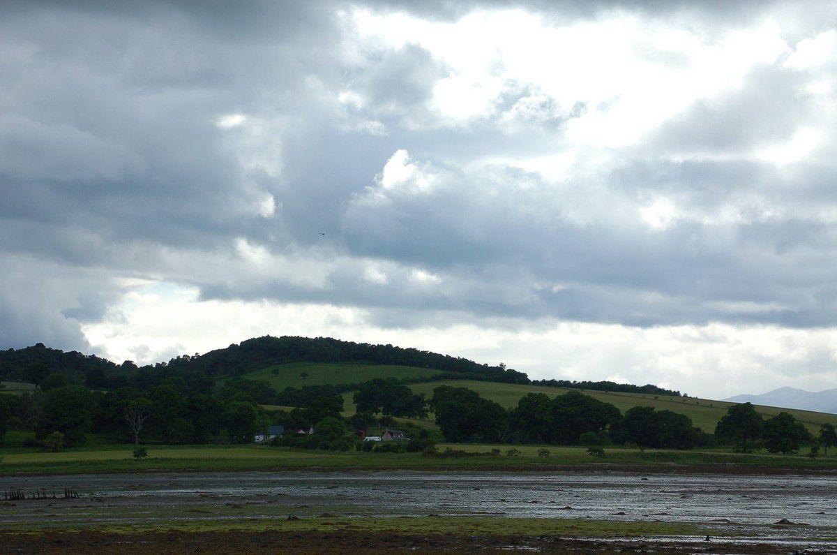 A deux pas à l'Ouest d'Inverness.