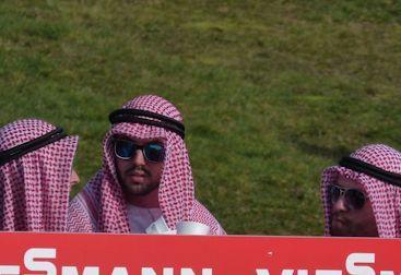 Arabische Fans in Hinzenbach - oder doch nicht arabisch?