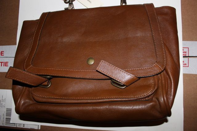 Sac cartable Gerard Darel marron neuf