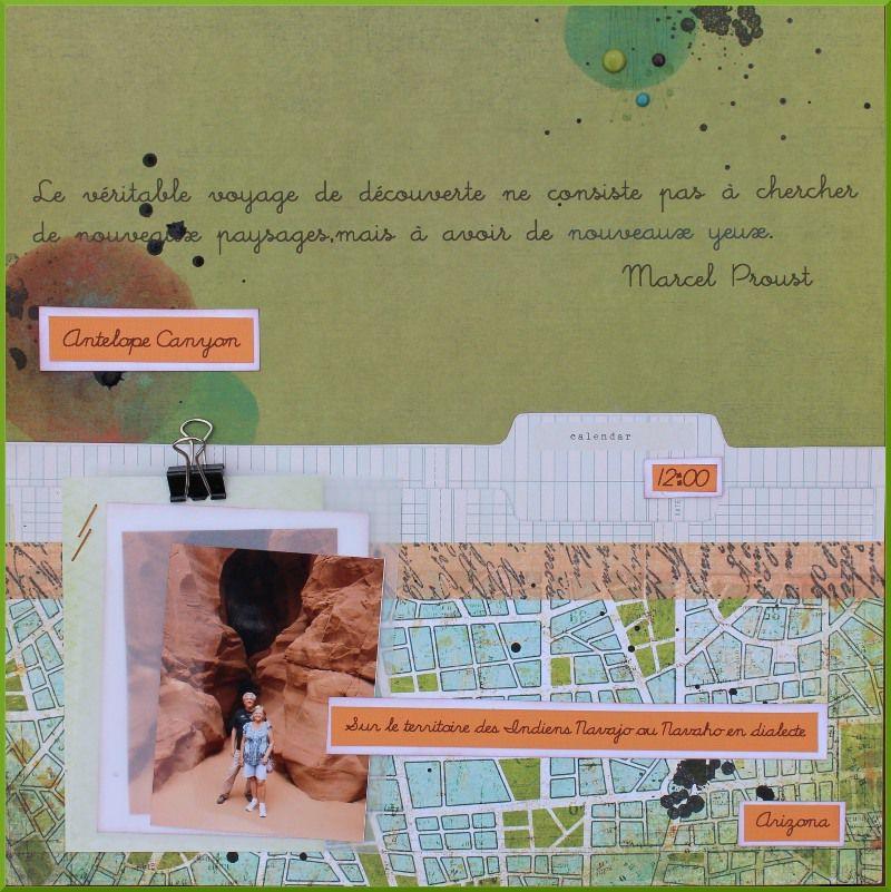 Citation de Marcel Proust:Le véritable voyage de découverte ne consiste pas à chercher de nouveaux paysages, mais à avoir de nouveaux yeux.