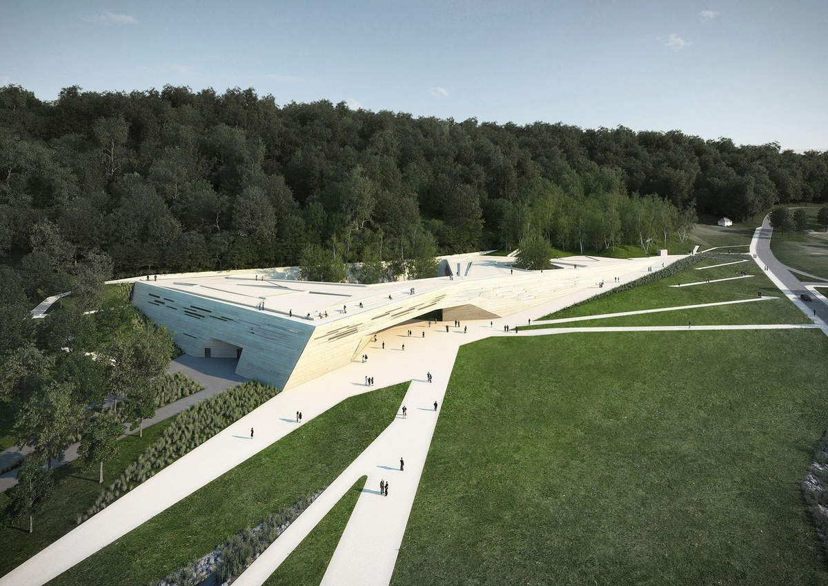 Le futur centre international d'art pariétal de Montignac