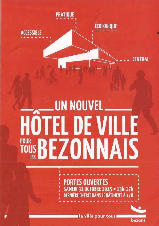 Nouvel Hôtel de Ville de Bezons...notre maison commune.
