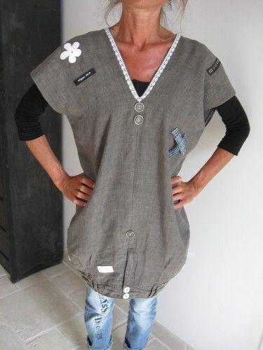 devant et dos sur un jean