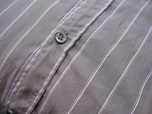 Coussin en jean recyclé...