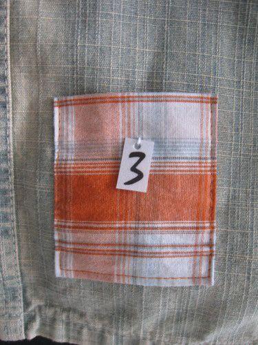 calendrier de l'avent en jupe et chemises recyclées