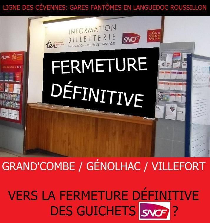 REOUVERTURE DES GUICHETS : LA SNCF FAIT FAUX BOND...