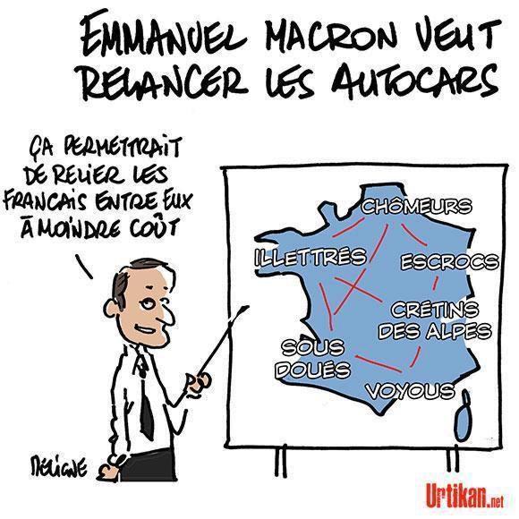 LOI MACRON : RISQUE D'EFFETS COLLATERAUX.....