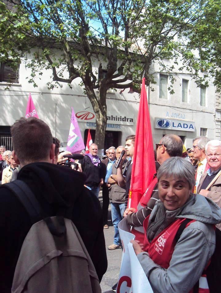Retour sur la  journée d'action DU 26 mai à Alès