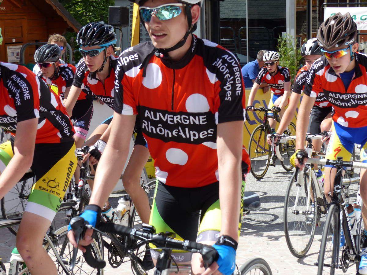 Critérium du Dauphiné opération jeunes cyclistes