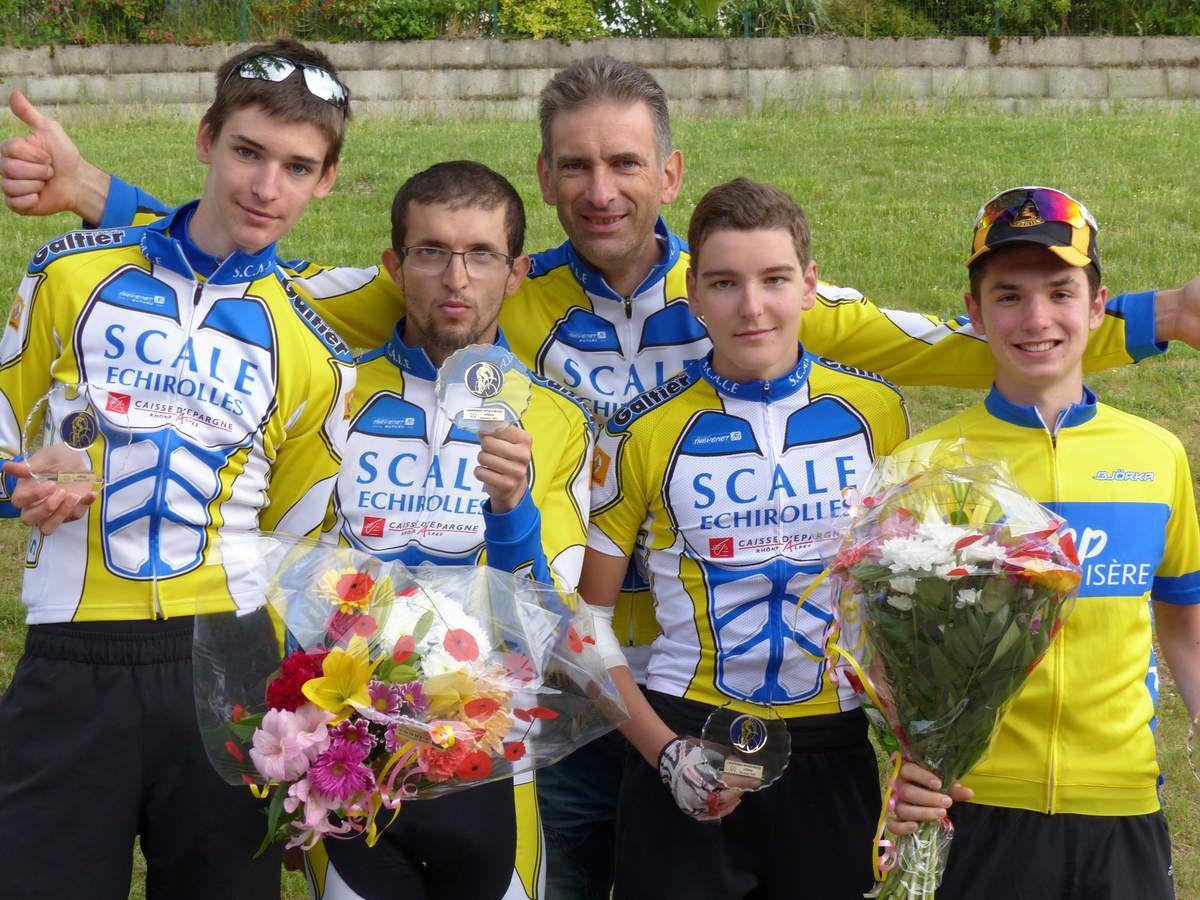 Retour sur le championnat départemental UFOLEP Isère cyclosport en ligne...
