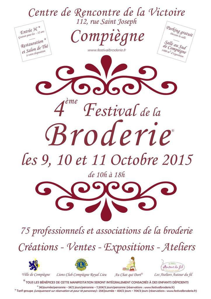 4ème Festival de la broderie
