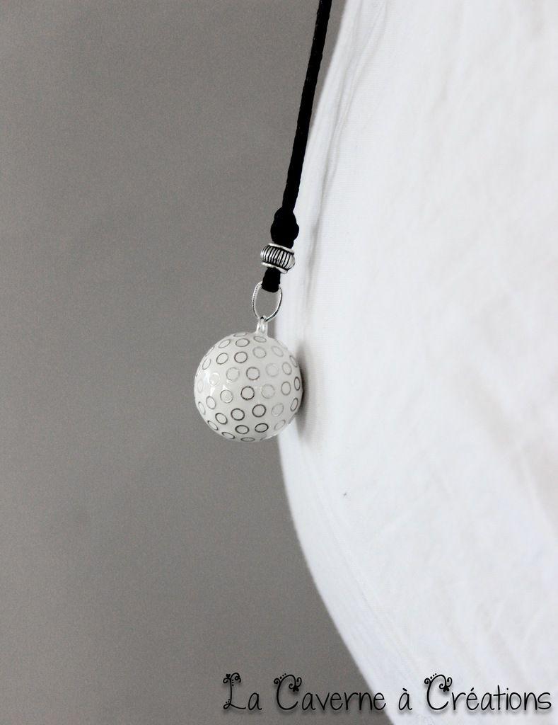 Bola de grossesse cercle blanc