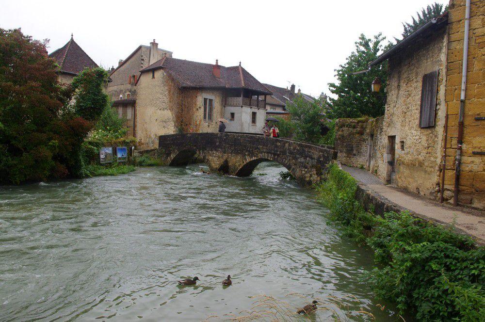 Jura - la cité d'Arbois