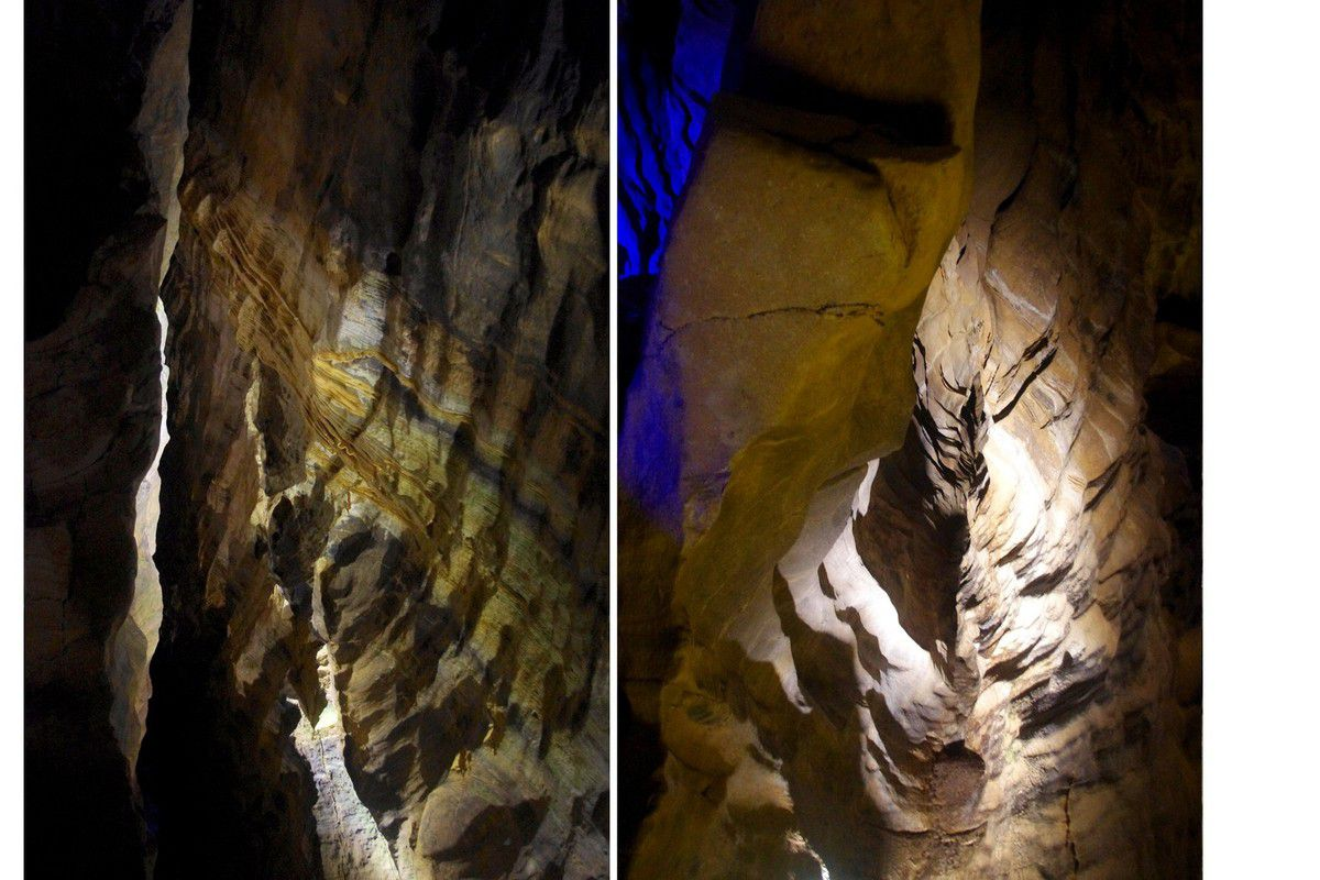 Jura - Grottes de Baume les messieurs