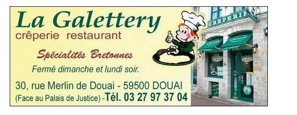 Restaurant La Galettery à Douai