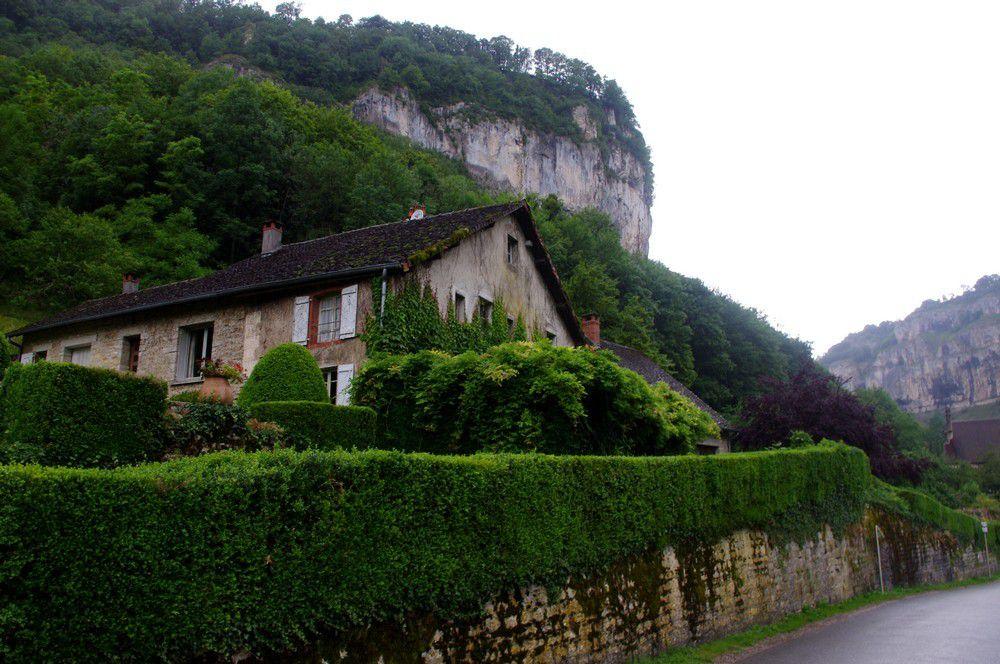 Jura - Baume-les-Messieurs et son abbaye