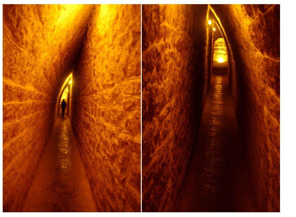 Jura - les caves d'affinage du fort des Rousses