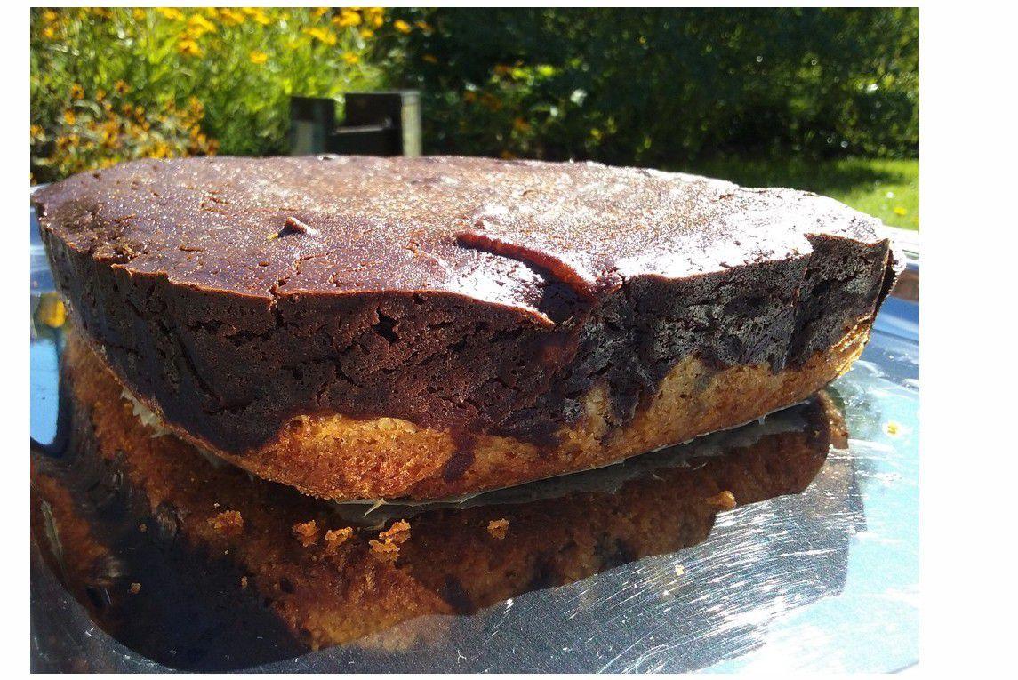 Un browkie : mélange entre brownie et cookie