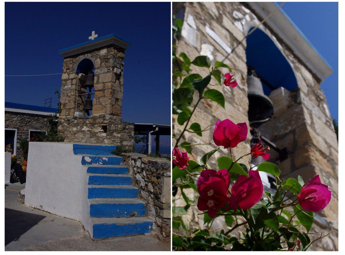 île de Kos - tour de l'île en quad : petit village de Zia