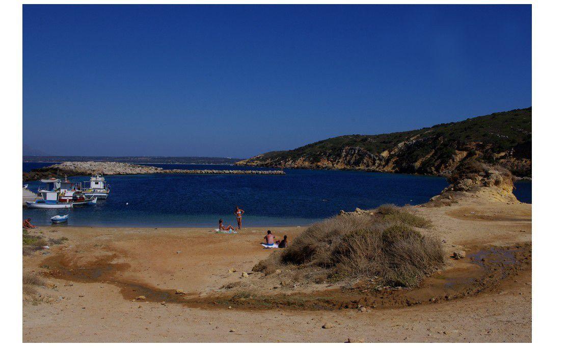 île de Kos - tour de l'île en quad : Limnionas Beach
