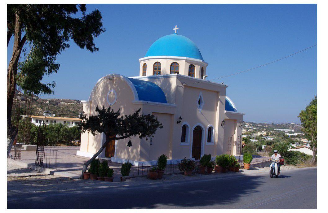 île de Kos - tour de l'île en quad : village de Kéfalos