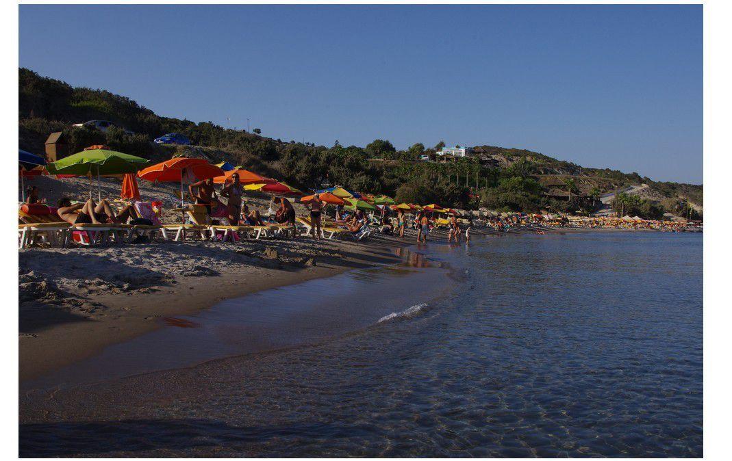 île de Kos - tour de l'île en quad : Paradise beach