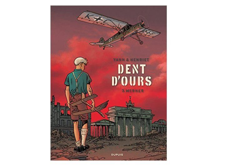 Bande dessinée &quot&#x3B;Dents d'ours&quot&#x3B;, tome 3